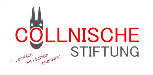 """Cöllnische Stiftung """"..einfach ein Lächeln schenken"""" Logo"""
